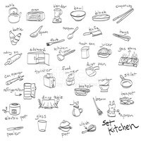 Doodle,Dining,Drawing - Act...