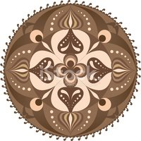 Abstract,Brown,Symbol,Isola...