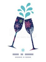 Wine,Holiday,Decor,Symbol,V...