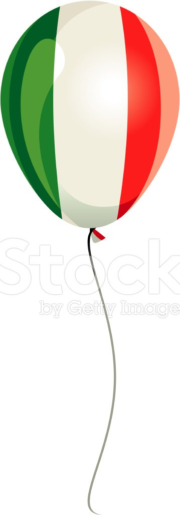 Italian Flag,Flag,Balloon,S...