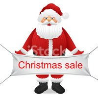 Santa Claus,Sale,Carrying,I...