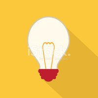 Outline,Light Bulb,Symbol,W...