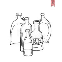 Drawing - Activity,Bottle,W...