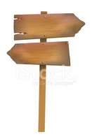 Wood - Material,Sign,Single...