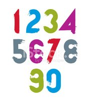 Number,Number 4,Calligraphy...