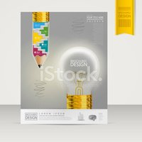 Light Bulb,template,Flyer,B...