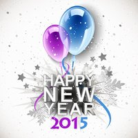 New Year's Eve,2015,Vector,...