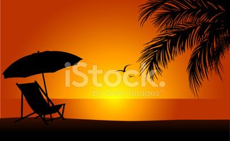 Beach,Sunset,Outdoor Chair,...