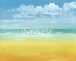 Morning,Beach,Abstract,Comp...