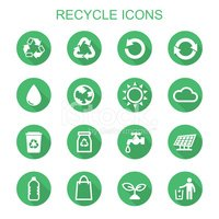 Recycling Symbol,Icon Set,R...