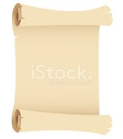 Parchment,Scroll,Old-fashio...