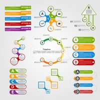 Infographic,Layered,Busines...