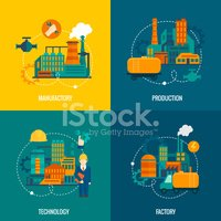 Factory,Infographic,Constr...