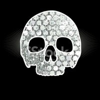 Diamond,Human Skull,Vector,...