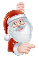 Santa Claus,Ilustration,Red...
