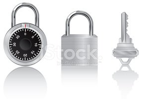 Padlock,Combination Lock,Ke...