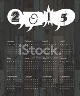 Calendar,2015,Business,Vect...