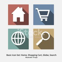 House,Shopping,Vector,Shopp...