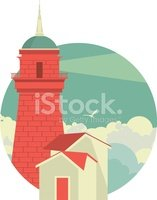 Sailboat,Symbol,Lighthouse,...