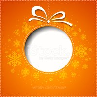 Christmas,Orange Color,Post...