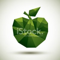 Apple - Fruit,Vector,Three-...