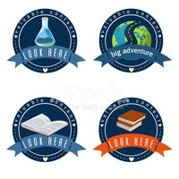 Education logo set.Vector  illustration.Eps 10