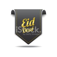 Eid Deal golden Vector Icon Design