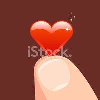 Human Finger,Heart Shape,Lo...
