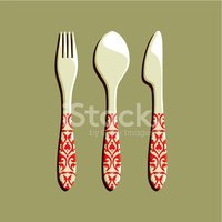 Fork,Spoon,Silverware,Table...