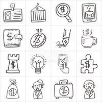 Infographic,Currency,Sketch...