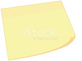 Adhesive Note,Message Pad,B...