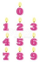 Number,Candle,Vector,Design...