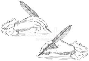 Writing,Quill Pen,Feather,I...