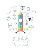 Infographic,Education,Space...