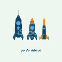 Vector,rocketship,template,...