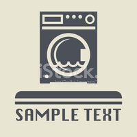 Washing Machine,Vector,Clea...