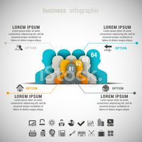 Infographic,People,Action,C...