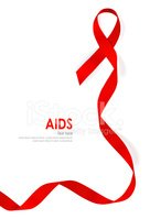 AIDS,Cancer,Ribbon,Backgrou...