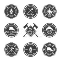 Firefighter,Sign,Insignia,S...
