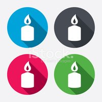 Candle,Symbol,Blue,Pink Col...