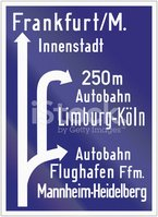 Germany,Sign,Airport,Direct...