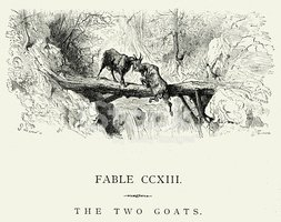 Goat,Fairy Tale,Victorian S...