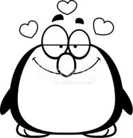 Love,Loving,Penguin,Smiling...