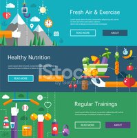 Infographic,Gym,Health Club...