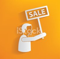 Sale,Directional Sign,Yello...