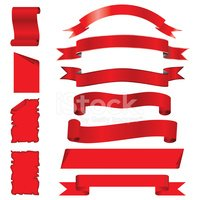 Banner,Ribbon,Red,Scroll,Ro...