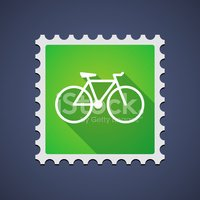 Postage Stamp,Sign,Cycling,...
