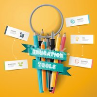 Student,Infographic,Pencil,...