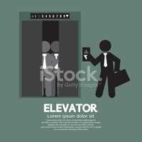 Elevator,Symbol,Businessman...