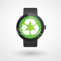 Recycling Symbol,Wrist,Appl...